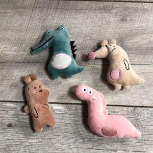 Cat toys with catnip